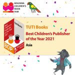 TUTI Books is the Winner of BOP 2021 –Bologna Prize Best Children's Publisher of the Year